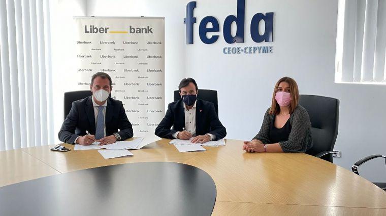 FEDA y Liberbank colaboran en el refuerzo del sector empresarial de Albacete con diversas actividades