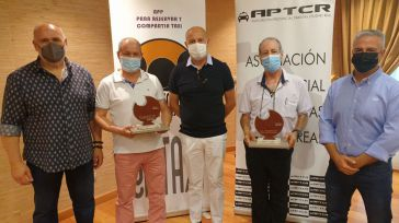 La Asociación Provincial de Taxistas de Ciudad Real entrega los Premios Qijotaxi 2021 a Radio Taxi Albacete y al taxista José María González