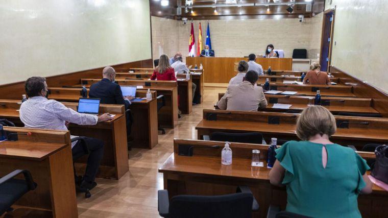 Dependencia, ocupación de vivienda, río Tajo, listas de espera y nudo logístico de Albacete, iniciativas a debate en el próximo Pleno de las Cortes regionales