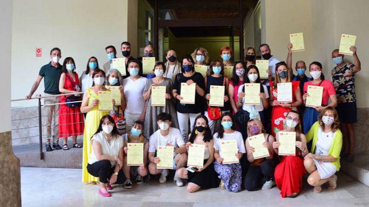 Alumnos de 13 países completan el curso 'Sefarad: Lengua, Historia y Cultura en Toledo'
