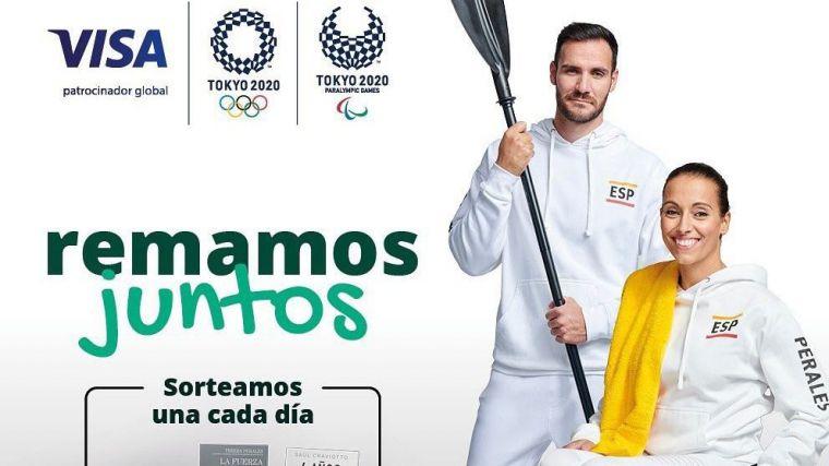 Visa y Globalcaja se preparan para los Juegos Olímpicos y Paralímpicos Tokyo 2020 de la mano de Teresa Perales y Saúl Craviotto