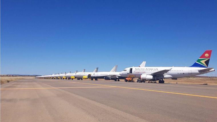 El aeropuerto de Ciudad Real reinicia su actividad aeronáutica con la llegada y salida de varios vuelos