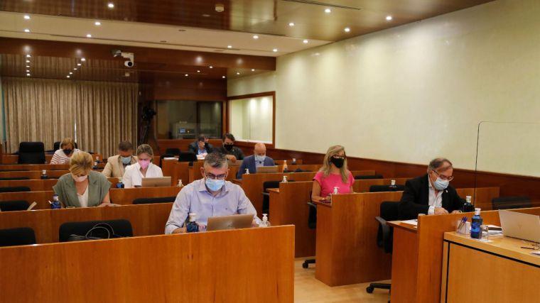 Las Cortes regionales debaten y votan la 'Ley del Juego' en el último Pleno de este periodo de sesiones