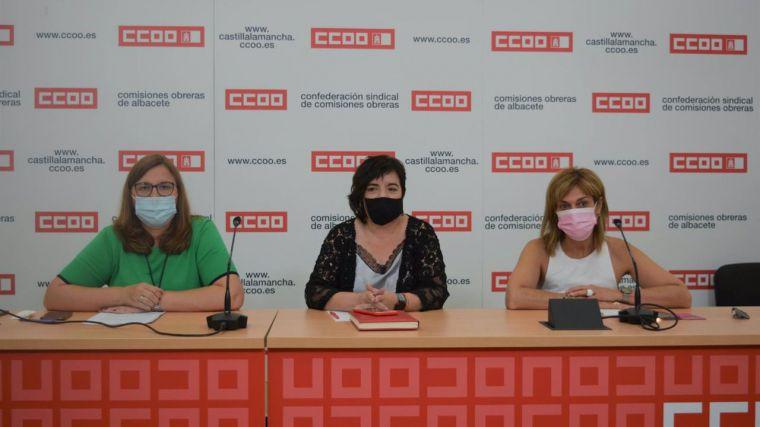 CCOO reclama consolidar todo el empleo temporal existente en el Sescam, 'en torno al 30% del total de la plantilla'