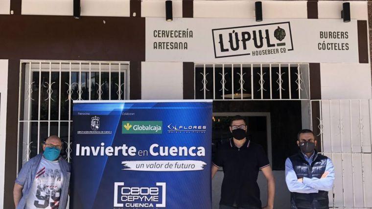 Invierte en Cuenca apoya la puesta en marcha de la Cervecería Lúpulo