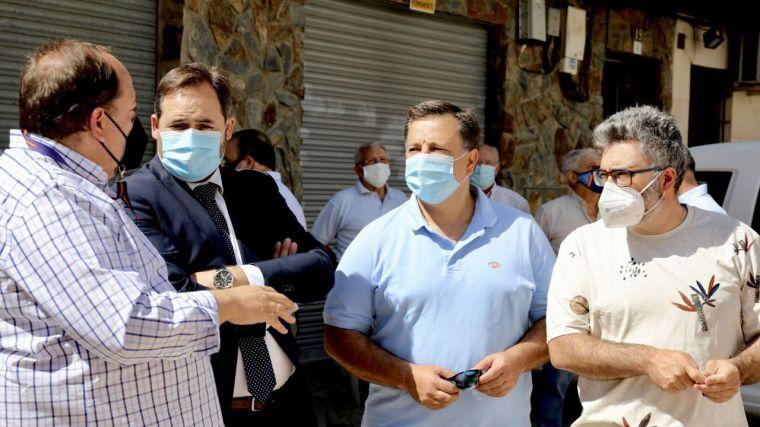 Núñez pide la discriminación positiva para CLM en el reparto de fondos europeos