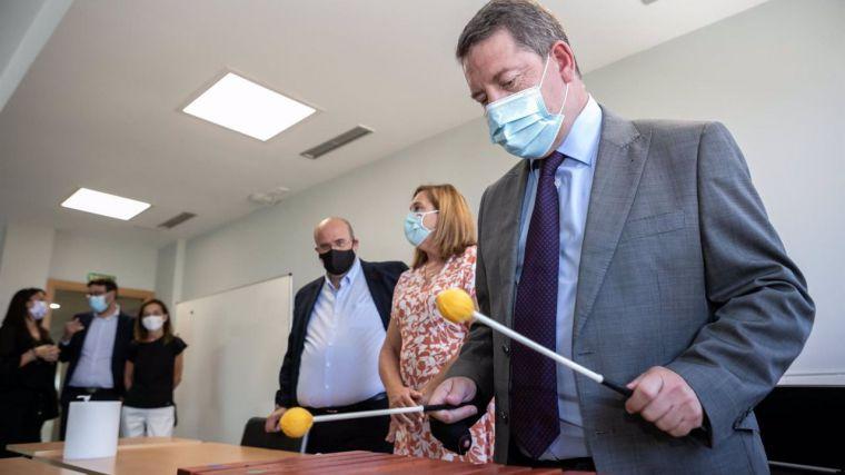 CLM mantendrá toda la plantilla docente incorporada durante la crisis sanitaria