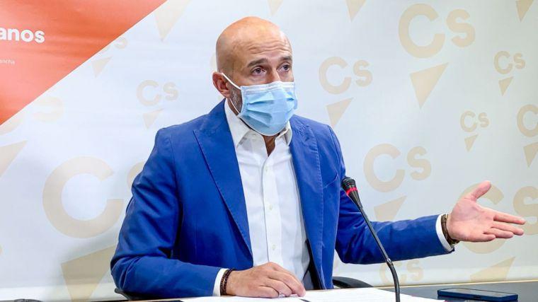 """Muñoz Zapata: """"Frente a la 'España multinivel' del PSOE, en Ciudadanos reclamamos la España de la igualdad"""""""