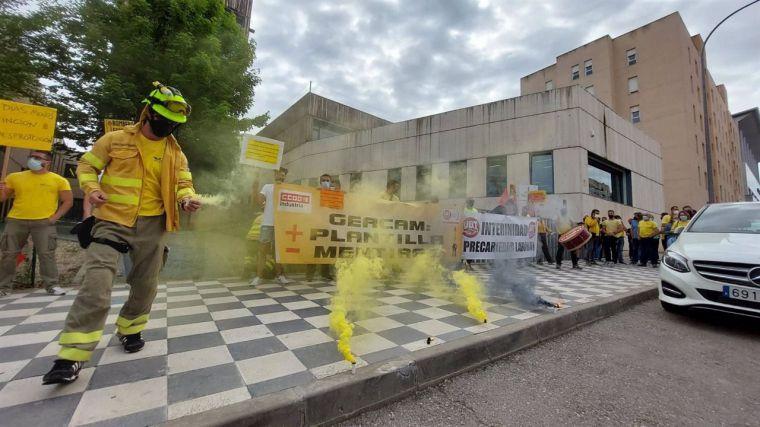 El comité de huelga de GEACAM convoca al gerente de la compañía y al consejero de desarrollo Sostenible a negociar la salida al conflicto