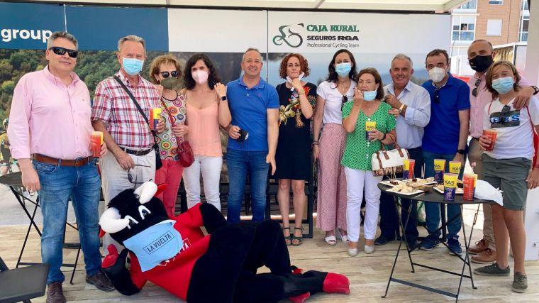Globalcaja, firme apoyo a La Vuelta a su paso por Castilla-La Mancha