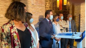 Núñez presenta las líneas maestras de su programa, en la confianza de llegar a gobernar CLM en 2023