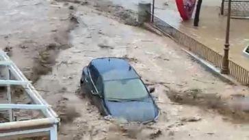 La tromba de agua causa inundaciones y destrozos en Toledo y varios municipios de la provincia