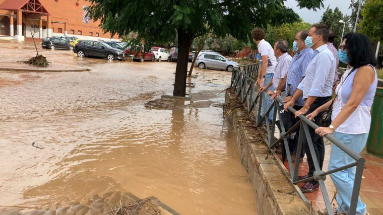 Velázquez pide la declaración de zona catastrófica para los municipios de la provincia de Toledo afectados por las tormentas