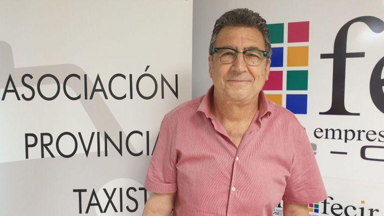 Juan José Sansebrin, nuevo presidente de la Asociación Povincial de Taxistas de Ciudad Real