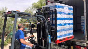 Mercadona dona más de 12.000 litros de leche al banco de alimentos de Albacete