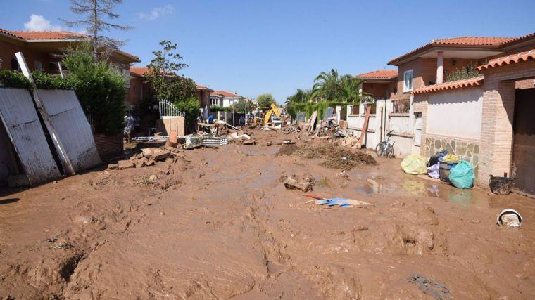 Castilla-La Mancha aprueba la solicitud de zona catastrófica para los municipios afectados por las tormentas