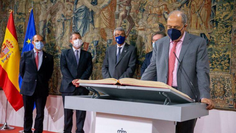 Andújar y De Irízar toman posesión en el Consejo Consultivo en el último acto público de Sánchez Garrido como presidente