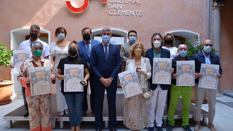 Álvaro Gutiérrez destaca el homenaje de la Diputación de Toledo a Alfonso X con la exposición plástica de San Clemente