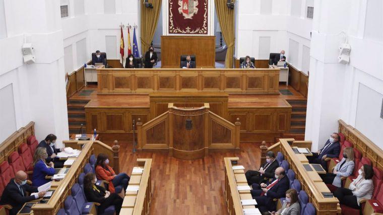 El debate y votación del techo de gasto de CLM para 2022 llega este jueves al pleno de las Cortes