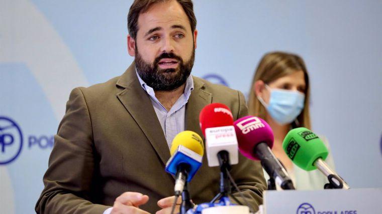Núñez descarta ina crisis interna en el PP C-LM y achaca las noticias que dudan de su candidatura al 'miedo' del PSOE
