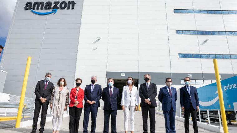 Amazon cumple 10 años en España y lo celebra con una oferta de mil puestos de trabajo y un nuevo centro en Illescas