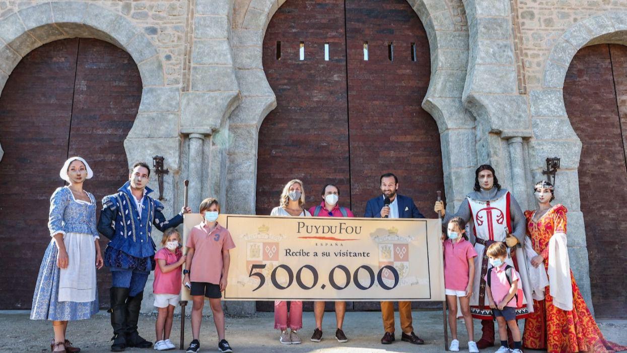 Puy du Fou confirma que ampliará su temporada hasta el 12 de diciembre tras recibir medio millón de visitantes
