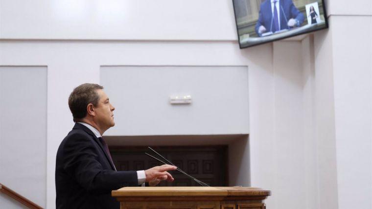 García-Page abre la posibilidad de reformar la Ley Electoral:
