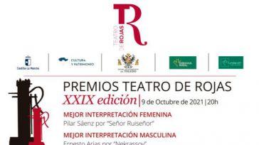 Berta Collado y Goyo Jiménez presentan el sábado la Gala de los Premios del Rojas, con galardón para el público toledano