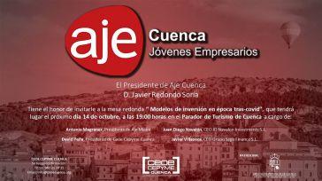 AJE Cuenca celebra el próximo jueves una mesa redonda sobre modelos de inversión tras el covid