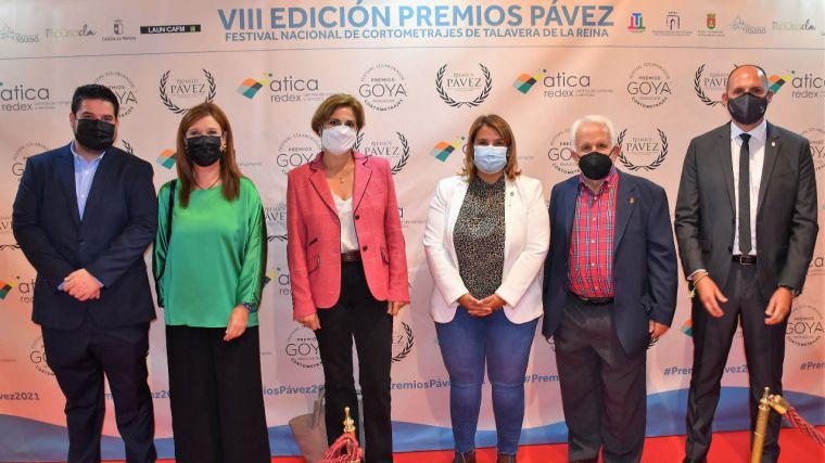 La Diputación de Toledo apoya la nueva edición de los Premios Pávez 2021 en la clausura del festival de cortos de Talavera de la Reina
