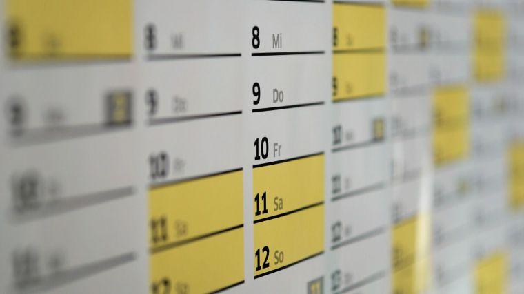 Este es el calendario laboral definitivo para 2022