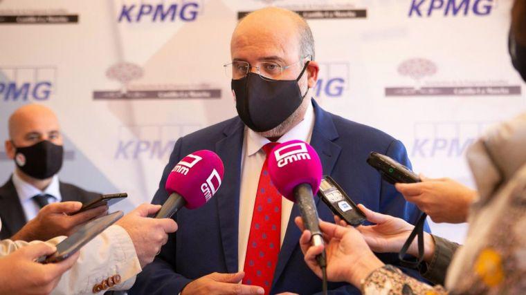 Castilla-La Mancha defenderá en Santiago que el debate en torno a la nueva financiación autonómica sea 'sereno'