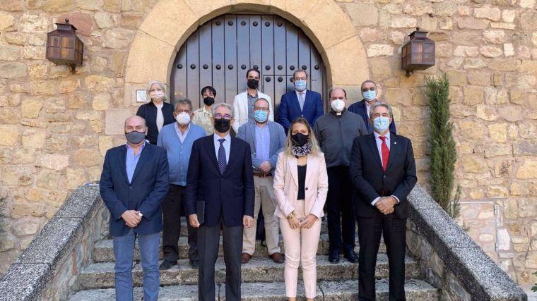 Magdalena Valerio y Pedro Loranca entran al Consejo Rector del postulado de Sigüenza a ser Patrimonio de la Humanidad