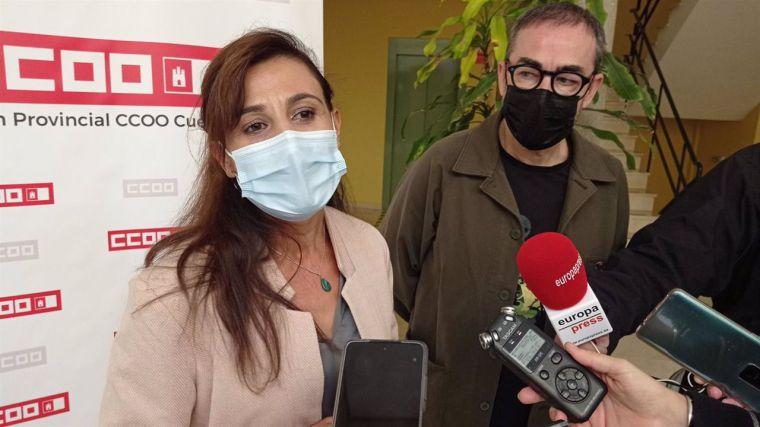 De la Rosa (CCOO C-LM) da credibilidad al nuevo anuncio de Sánchez contra la reforma laboral de 2012: