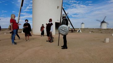 Periodistas especializados de Polonia visitan Campo de Criptana en un viaje organizado por ACEVIN