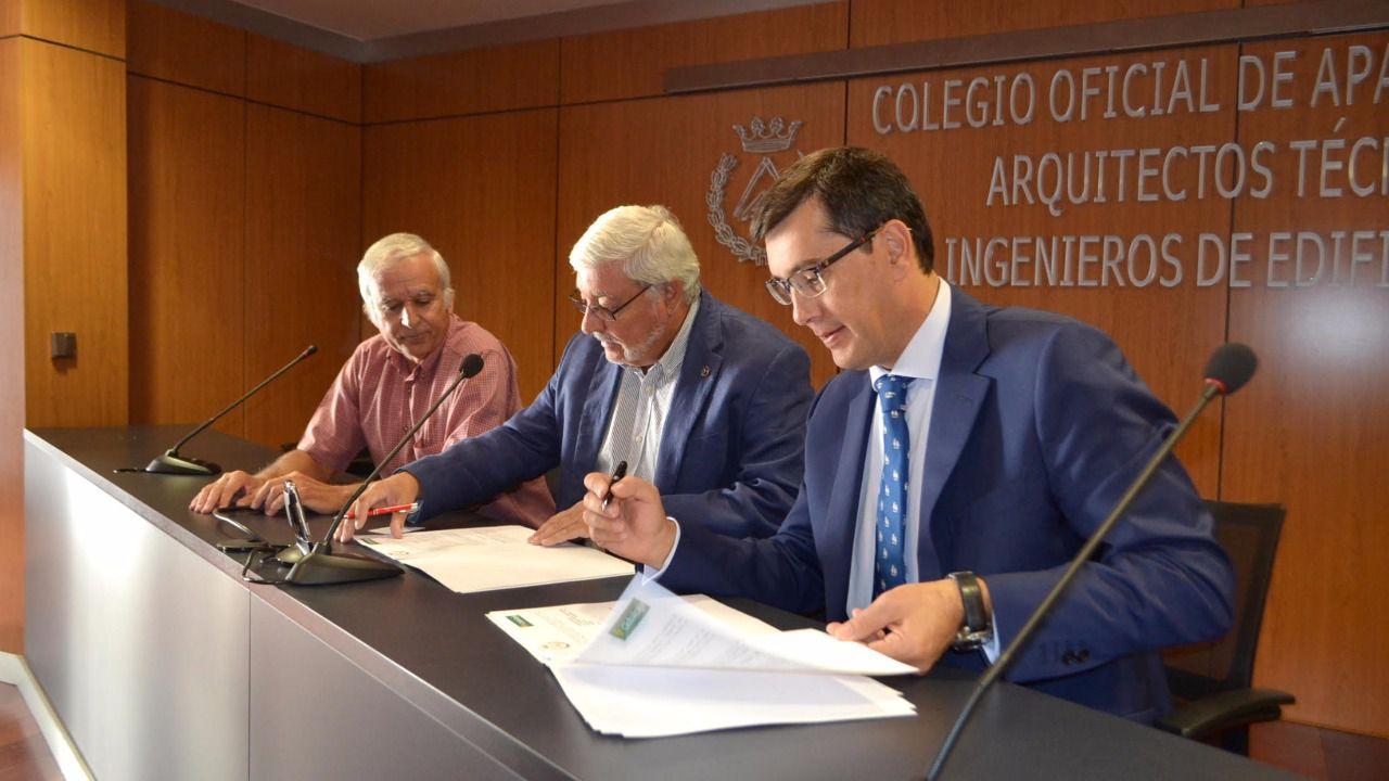 Nuevo convenio del colegio de aparejadores de toledo y - Colegio de arquitectos toledo ...