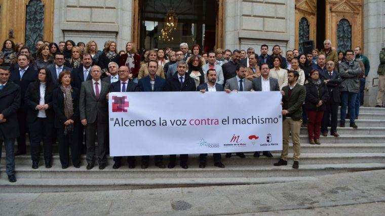 El presidente de la Diputación de Toledo pide unidad para acabar con la violencia contra la mujer