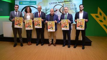 El Cross nacional de Sonseca recibe el apoyo económico de la Diputación de Toledo