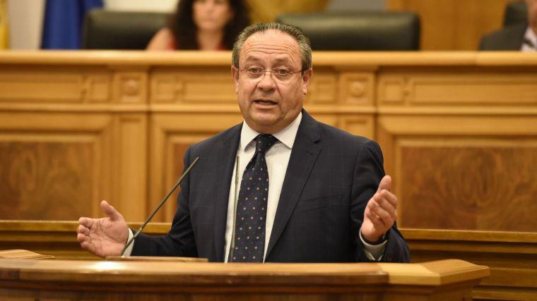 El consejero de Hacienda y Administraciones Públicas,Juan Alfonso Ruiz Molina.
