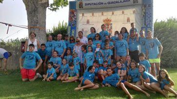 El Campeonato Interpueblos de Natación sigue su desarrollo por la provincia de Guadalajara