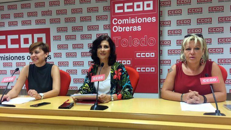 CCOO denuncia la presencia 'masiva y fraudulenta' de trabajadores de ETT en empresas de Toledo