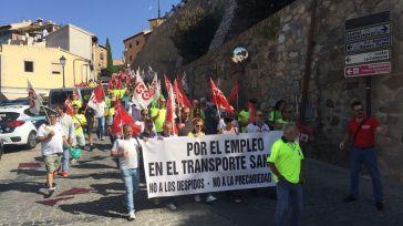 Los trabajadores del Transporte Sanitario de CLM, a la huelga