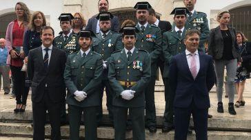 El alcalde de Seseña participa en los actos de celebración de la Patrona de la Guardia Civil
