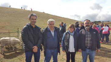 Enjuto resalta el apoyo de la Diputación Provincial para seguir manteniendo la Feria de Ganado de Cantalojas