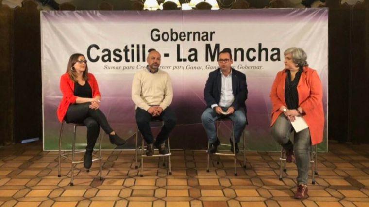 Podemos e Izquierda Unida confluirán en Castilla-La Mancha de cara a las elecciones autonómicas de 2019