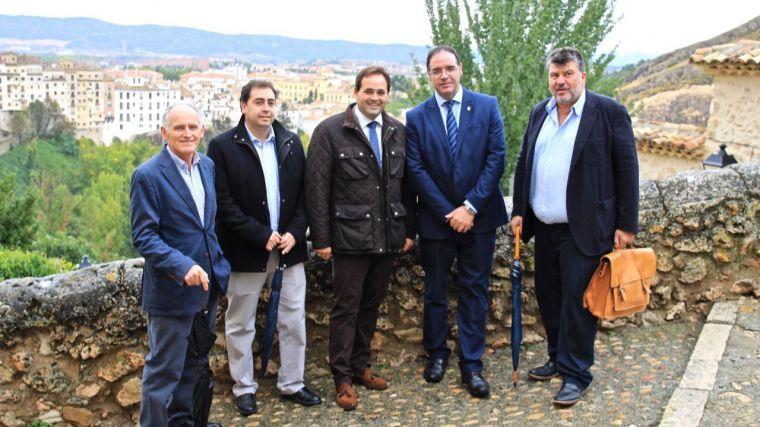 """Núñez avanza que el PP está trabajando en """"una estrategia real y contundente"""" para atajar el problema de la despoblación en Cuenca"""