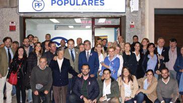 """Núñez: """"Frente al Gobierno de Page con los populistas y radicales, el Partido Popular presenta una alternativa de Gobierno con la sociedad civil"""""""