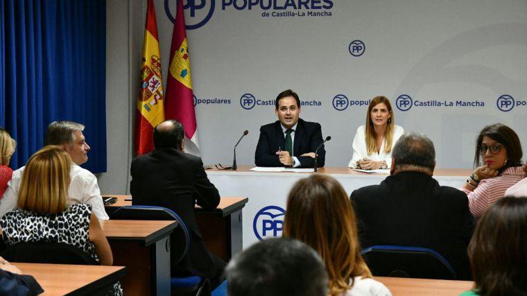 Núñez: Lo que nos escandaliza de Sánchez, en Castilla-La Mancha llevamos sufriéndolo más de tres años con Page y Podemos