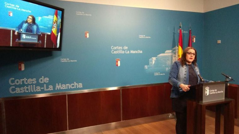 """Díaz: """"El efecto Podemos es una realidad y esperamos que la ciudadanía lo valore positivamente""""."""
