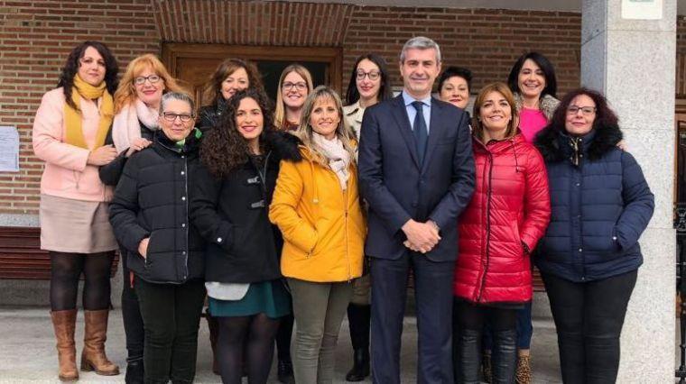 Álvaro Gutiérrez destaca la buena marcha de los talleres de empleo promovidos por la Diputación de Toledo